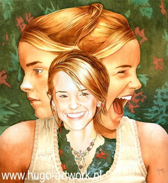 Emma Watson by HugoBaur